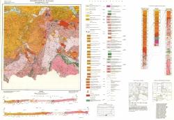 K-35-088 (Крумовград и Сапе). Геоложка карта на България