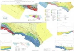 K-37 (Сочи); К-38 (Махачкала); K-39. Государственная геологическая карта Российской Федерации. Третье издание. Скифская серия