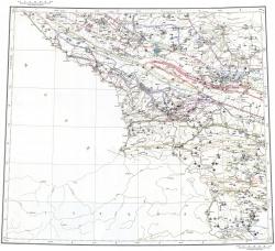 K-(37),(38). Государственная геологическая карта СССР (Тбилиси). Карта полезных ископаемых образований