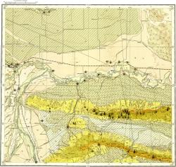 K-38-III Карта полезных ископаемых СССР. Серия Кавказская