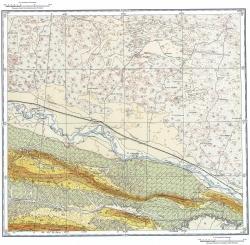 K-38-IV. Геологическая карта СССР