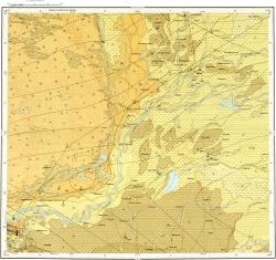 K-38-V Карта полезных ископаемых СССР. Серия Кавказская