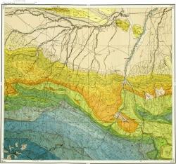 K-38-X Геологическая карта СССР. Серия Кавказская