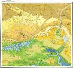 K-38-XI Карта полезных ископаемых СССР. Серия Кавказская