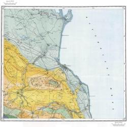 K-38-XII Карта полезных ископаемых СССР. Серия Кавказская