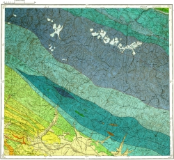 K-38-XVI. Геологическая карта СССР
