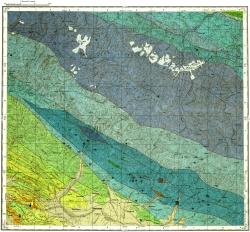 K-38-XVI. Карта полезных ископаемых СССР