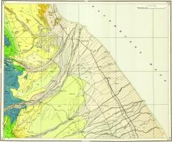 K-39-XIX,XX. Геологическая карта СССР