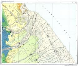K-39-XIX,XX. Карта полезных ископаемых СССР