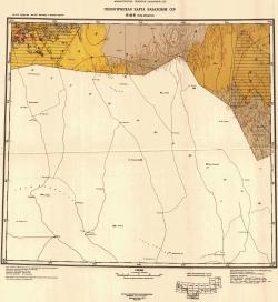 K-41-Б (горы Букунтау). Геологическая карта Казахской ССР