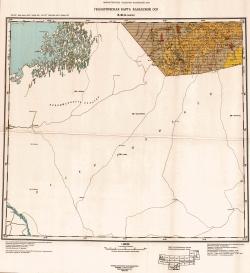 K-41-A (Мангит). Геологическая карта Казахской ССР