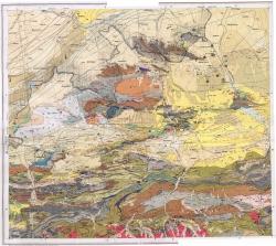K-43-XXXI (Ош). Геологическая карта СССР. Карта полезных ископаемых