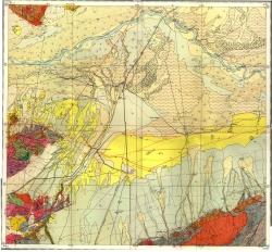 K-44-II. Государственная геологическая карта СССР