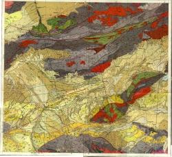 K-44-VIII. Государственная геологическая карта СССР