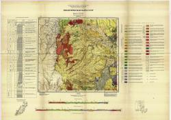K-52-VI. Геологическая карта СССР. Серия Сихотэ-Алинская