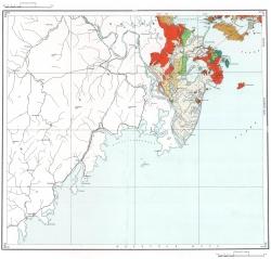 K-52-XVII. Геологическая карта СССР. Серия Сихотэ-Алинская
