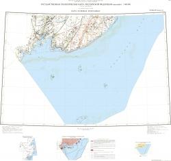 K-(52),53 (Владивосток). Государственная геологическая карта Российской Федерации. Третье поколение. Дальневосточная серия. Карта полезных ископаемых