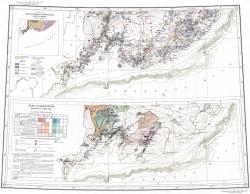 K-(52);(53) (Владивосток). Государственная геологическая карта СССР. Карта полезных ископаемых и карта угленосности