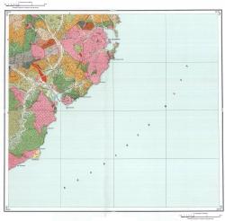 K-53-IV. Геологическая карта СССР. Серия Сихотэ-Алинская