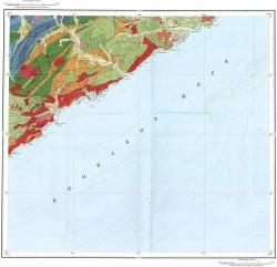 K-53-IX. Геологическая карта Российской Федерации. Издание второе. Серия Сихотэ-Алинская