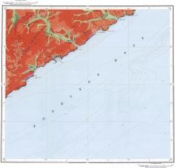 K-53-IX. Геологическая карта Российской Федерации. Карта четвертичных образований. Издание второе. Серия Сихотэ-Алинская
