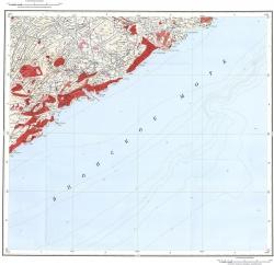 K-53-IX. Геологическая карта Российской Федерации. Карта полезных ископаемых. Издание второе. Серия Сихотэ-Алинская