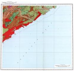 K-53-IX. Геологическая карта СССР. Серия Сихотэ-Алинская
