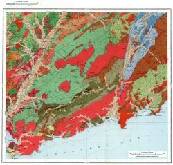 K-53-VIII. Геологическая карта СССР. Серия Сихотэ-Алинская