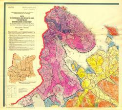 Карта геоморфолого-неотектонического районирования нечерноземной зоны РСФСР
