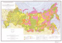 Карта качества геофизической изученности России.