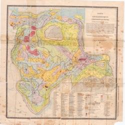 Карта нефтегазоносности Сибирской платформы