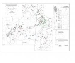 Карта полезных ископаемых Брянской области