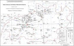 Карта полезных ископаемых Ивановской области