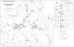 Карта полезных ископаемых Липецкой области