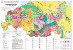 Карта полезных ископаемых Российской Федерации