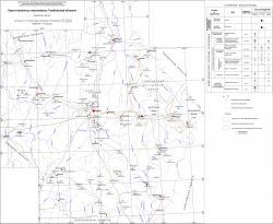 Карта полезных ископаемых Тамбовской области