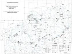 Карта полезных ископаемых Тверской области