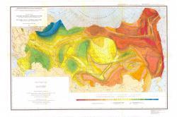 Карта рельефа подошвы литосферы России