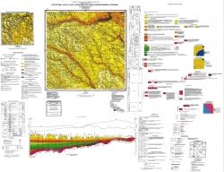 L-36-I (Любашовка). Геологическая карта и карта полезных ископаемых дочетвертичных образований. Серия Центральноукраинская