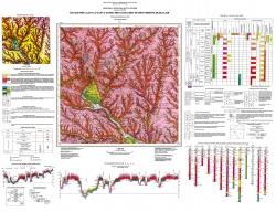 L-36-II (Вознесенск). Геологическая карта и карта полезных ископаемых четвертичных отложений. Серия Центральноукраинская