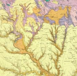 L-36-II (Вознесенск). Геологическая карта СССР. Серия Центральноукраинская