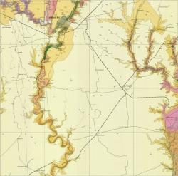 L-36-IV (Кривой Рог). Геологическая карта СССР. Серия Центральноукраинская