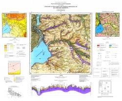 L-36-VI (Запорожье). Геологическая карта и карта полезных ископаемых четвертичных отложений. Серия Центральноукраинская