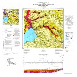 L-36-VI (Запорожье). Геологическая карта и карта полезных ископаемых дочетвертичных отложений. Серия Центральноукраинская