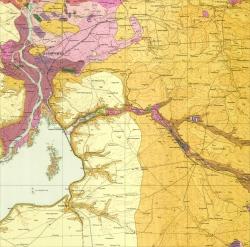 L-36-VI (Запорожье). Геологическая карта СССР. Серия Центральноукраинская