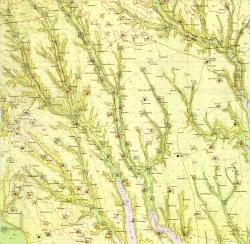 L-36-VII (Раздельная). Геологическая карта СССР. Серия Причерноморская. Гидрогеологическая карта