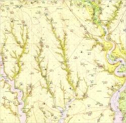 L-36-VIII (Новая Одесса). Геологическая карта СССР. Серия Причерноморская. Гидрогеологическая карта