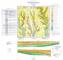 L-36-VIII (Новая Одесса). Геологическая карта СССР. Серия Причерноморская. Карта дочетвертичных отложений