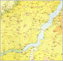 L-36-X (Новая Каховка). Геологическая карта СССР. Серия Причерноморская. Гидрогеологическая карта