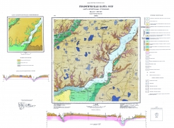L-36-X (Новая Каховка). Геологическая карта СССР. Серия Причерноморская. Карта четвертичных отложений